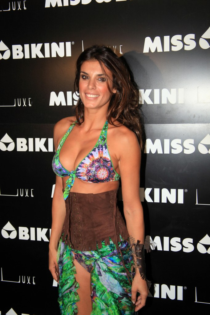 Elisabetta Canalis - Miss Bikini - Milan Fashion Week (2012)