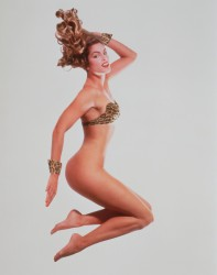Cindy Crawford Partially Nude