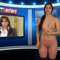 Isabella Rossini - Naked News (27-01-2015)