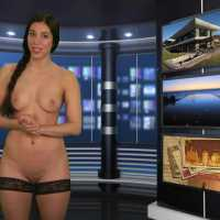 Isabella Rossini - Naked News (28-01-2015)